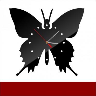 Zegar akrylowy MOTYL