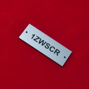 Tabliczka opisowa 70x30mm