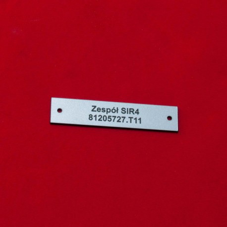 Tabliczka opisowa 70x15mm