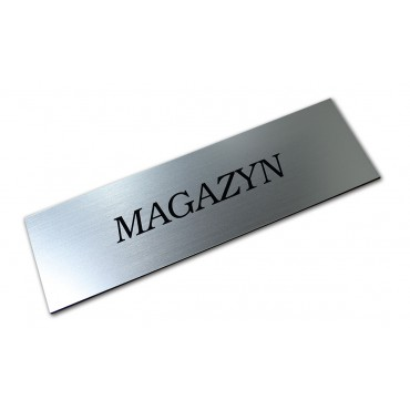 """Tabliczka na drzwi """"MAGAZYN"""" itp."""