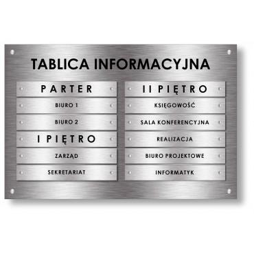 Tablica informacyjna 90x60cm